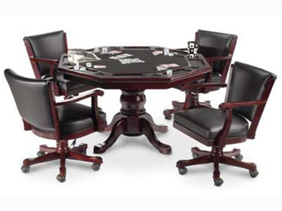 Classic Poker Table Game Set